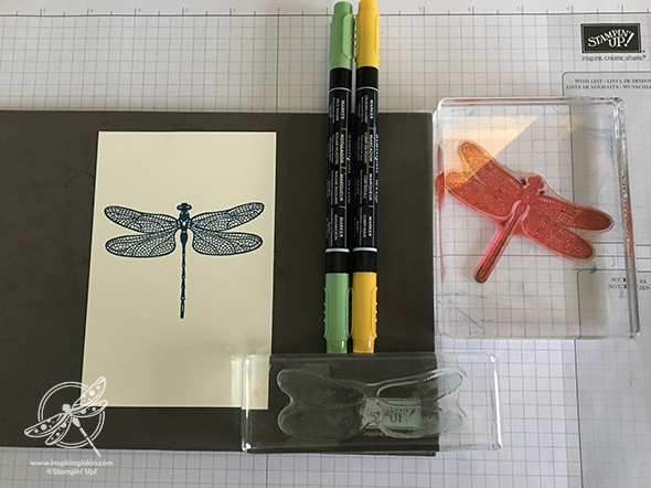 Dragonfly Dreams Card Stamping Techniques to Try Stampin' Up! Uk Amanda Fowler Inspiring Inkin'