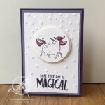 Magical Day Unicorn Card Stampin