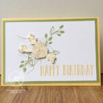 Perennial Birthday card Stampin