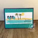 Waterfront Birthday Card Stampin