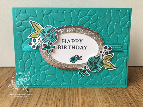 Happy Birthday Gorgeous Stampin' Up! Uk Amanda fowler Inspiring Inkin'
