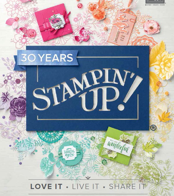 New Stampin' Up! 2018 Catalogue