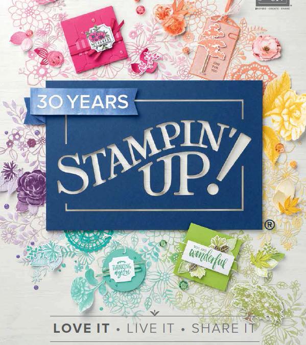 New Stampin' Up! 2018 Catalogue