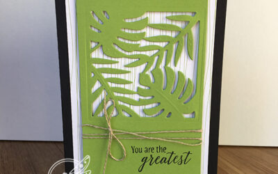 Tropical Thinlets Card