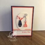 Varied vases Card Stampin Up! Uk Inspiring Inkin Amanda Fowler