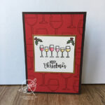 Hall Full Christmas Card Inspiring Inkin Stampin