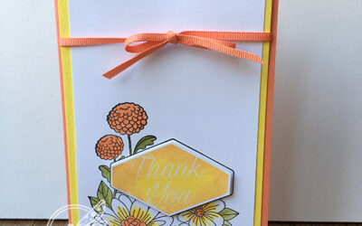 Accented Blooms Sunshine Card