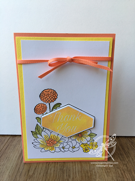 Accented Blooms Inspiring Inkin Stampin Up ! Uk Amanda Fowler