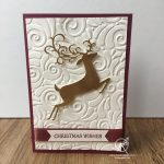 Dashing Deer Detailed Deer Christmas Card Stampin