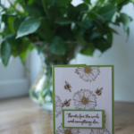 Dragonfly Dreams and Touches of Texture Wedding Anniversary Stampin