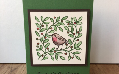 Feathers & Frost Christmas Card