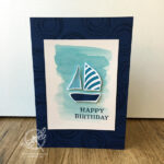 Swirly Bird Card Stampin