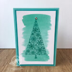 Snow is Glistening Christmas Card Stampin