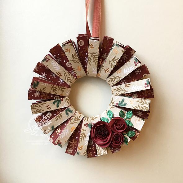 Joyous Noel Wreath