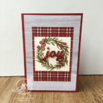 Festive Farmhouse Joy Christmas Card Stampin
