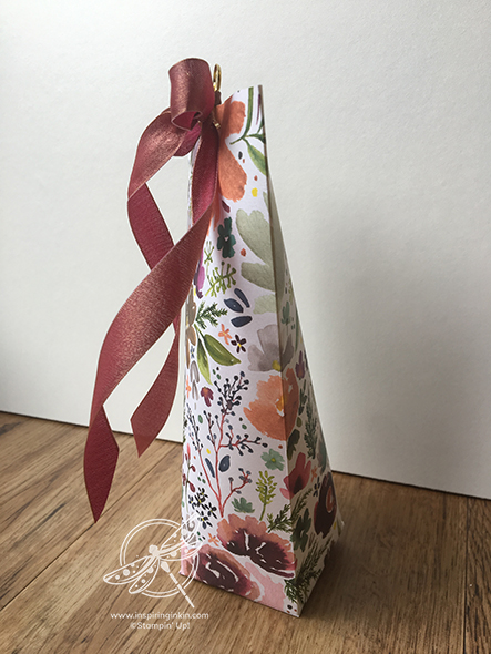 Gift Pouch Gift Bag Amanda Fowler Inspiring Inkin' STampin' Up! UK Video
