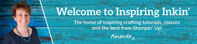 Inspiring Inkin' Amanda Fowler Welcome Banner Stampin' Up! UK