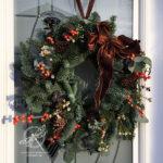 Christmas Wreath 2018 Amanda fowler Inspiring Inkin