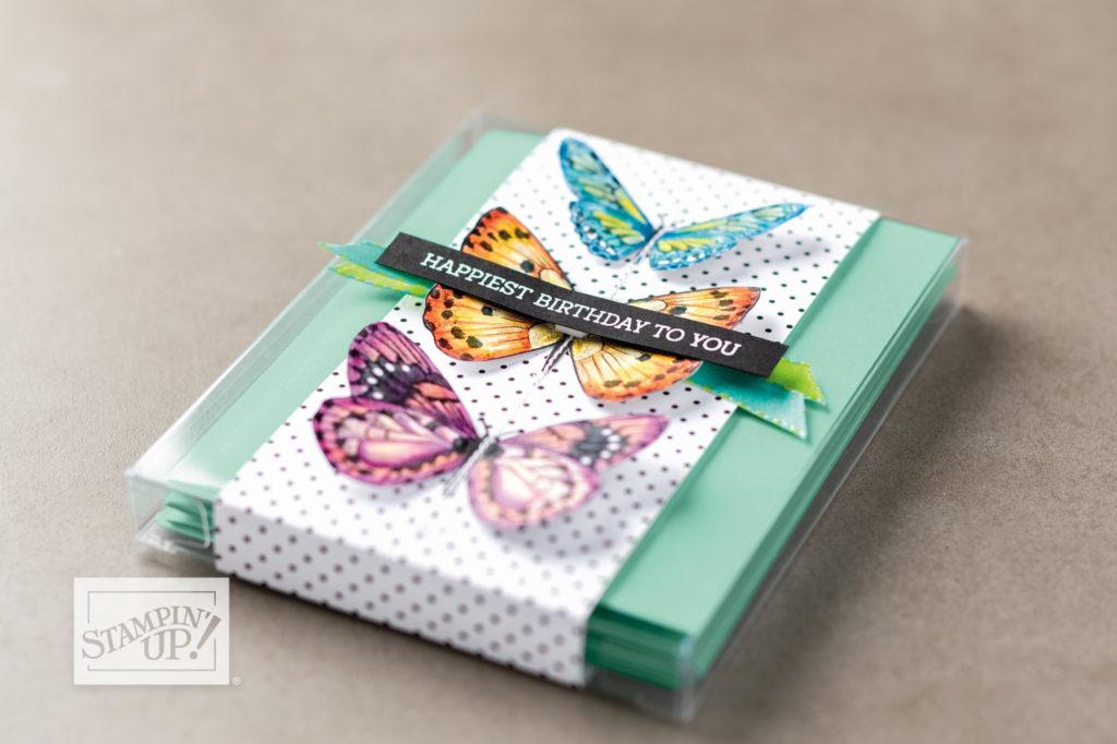 SAB Butterflies Stampin' Up! UK Inspiring Inkin'