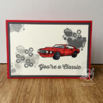 Geared Up Garage Car Card Stampin