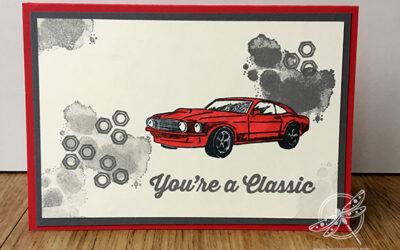 Red Car Birthday Card