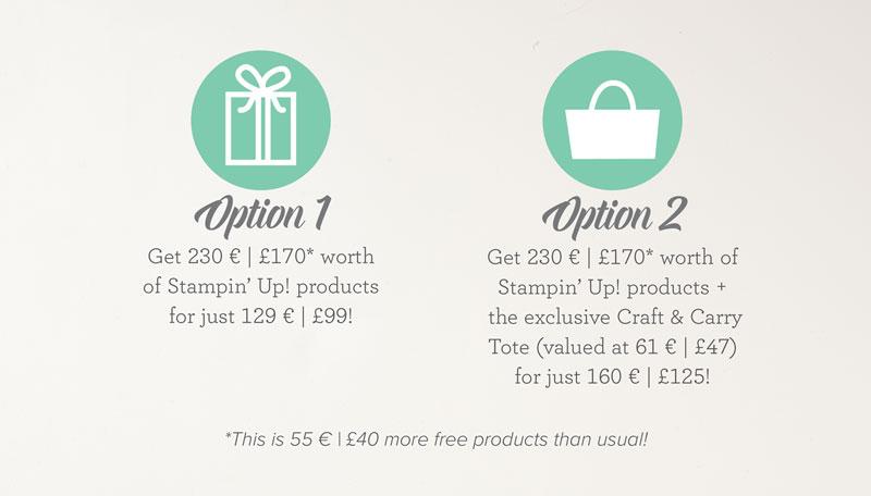 Special Joining Offer Stampin' Up! UK Amanda Fowler Inspiring Inkin