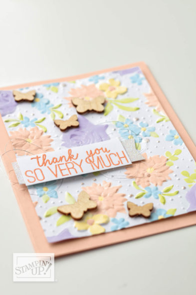 Country Floral Sale-a-bration Stampin' Up! Uk Inspiring Inkin' Amanda Fowler