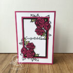 Triple Time Stamping Card and Video Stampin