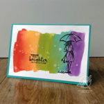 Rainbow Water Colour Wash Video Amanda Fowler Inspiring Inkin