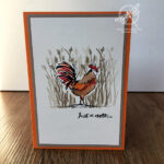 Home to Roost Note Card Card Stampin