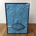 Hello Country Floral Card Stampin