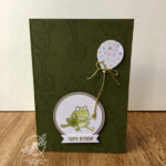 Birthday Frog Card Stampin