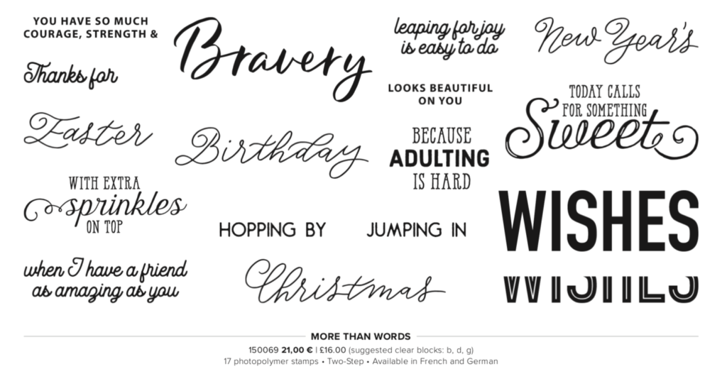 Sale-a-bration co-ordination Stampin' Up! Uk Inspiring Inkin' Amanda Fowler
