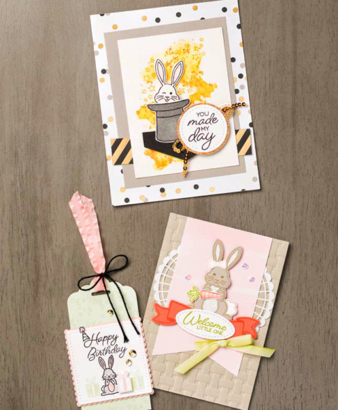 Bunny Builder Punch Stampin' Up! Uk Inspiring Inkin' Amanda Fowler