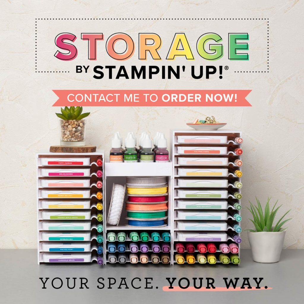 Storage by Stampin' Up! Uk Amanda Fowler Inspiring Inkin'