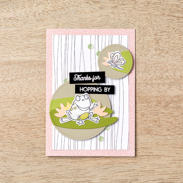 So Hoppy Together Sale-a-bration co-ordination Stampin' Up! Uk Inspiring Inkin' Amanda Fowler
