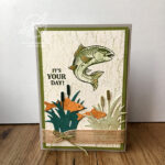 Best Catch Fish Card Amanda Fowler Inspiring Inkin