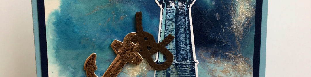 Sailing Home card and Video Amanda Fowler Inspiring Inkin' Stampin' Up! UK