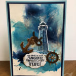 Sailing Home card and Video Amanda Fowler Inspiring Inkin