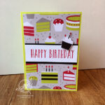 Quick and easy Birthday Card Amanda Fowler Inspiring Inkin