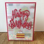 Flat Vellum Shaker Card Video Amanda Fowler Inspiring Inkin