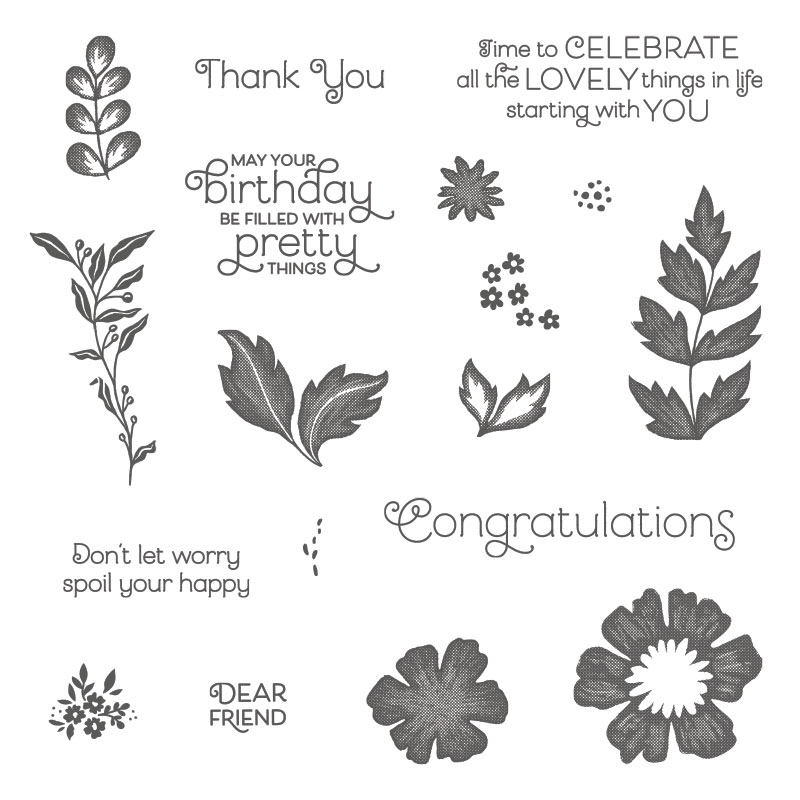 Everything is Rosy Amanda Fowler Inspiring Inkin' Stampin' Up! UK