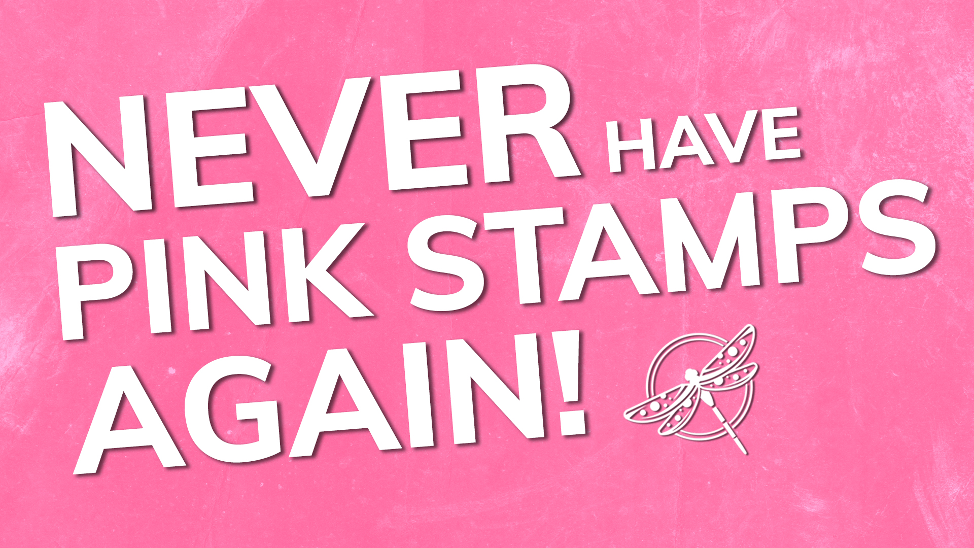 Never have Pink Stamps again video