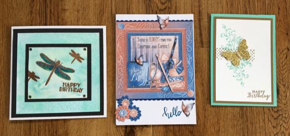 Birthday cards Stampin' Up! UK Inspiring Inkin' Amanda fowler