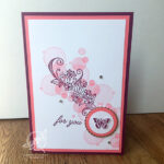 For You Butterfly Card Stampin