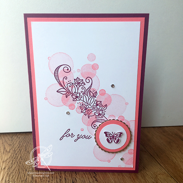 Beauty Abounds Butterfly Card