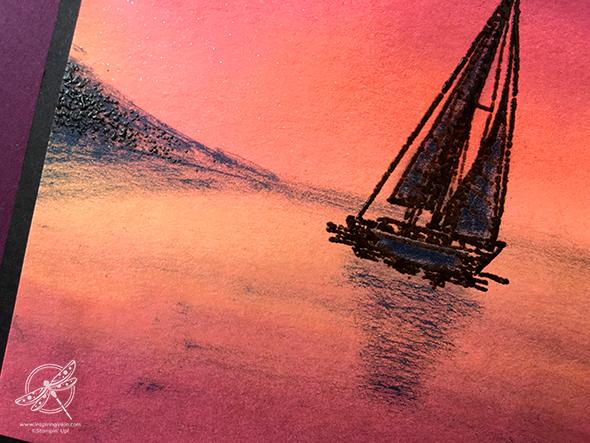 Come Sail Away Card Amanda Fowler Inspiring Inkin' Stampin' Up! UK