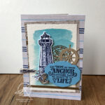 Come Sail Away Card Amanda Fowler Inspiring Inkin' Stampin' Up! UK