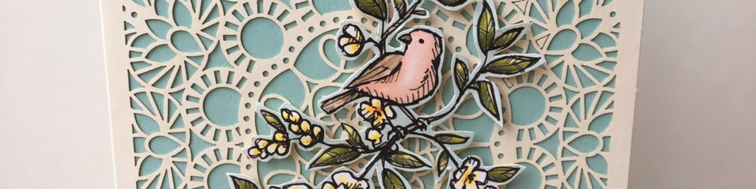Free as a bird Stampin' Up! UK Amanda Fowler Inspiring Inkin