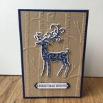 Dashing Deer Christmas Card Stampin